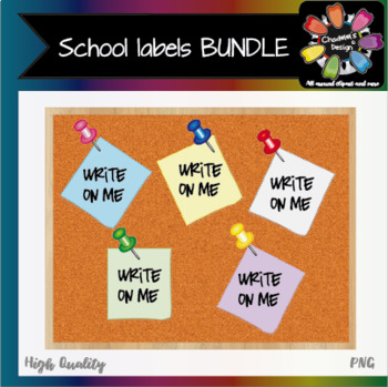 School Labels BUNDLE