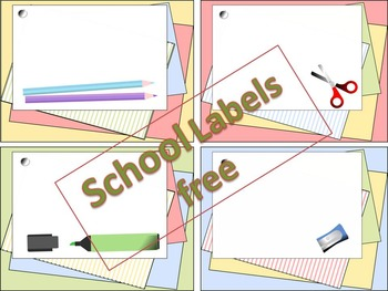 School Labels FREE