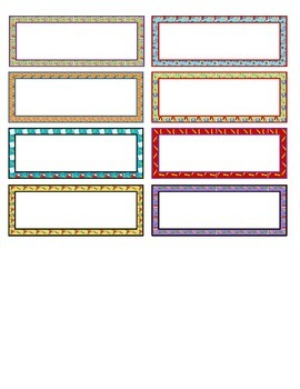 School Labels for Avery 5162