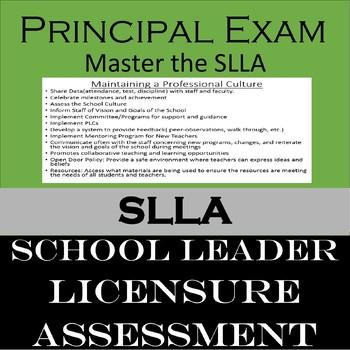 School Leader Licensure Assesment(SLLA)