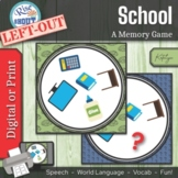 School Left-Out: A Memory Game