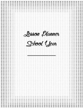 School Lesson Planner - Weekly schedule