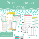 School Librarian Planner 2019-2020