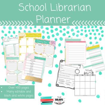 School Librarian Binder
