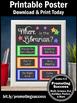 School Librarian Library Door Sign Great Gift Office Decor
