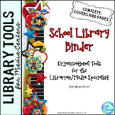 Library Planner Binders Scrappy Theme
