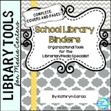 Library Planner Binders Gray-Yellow