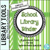 School Library Binder/Planner:  Green