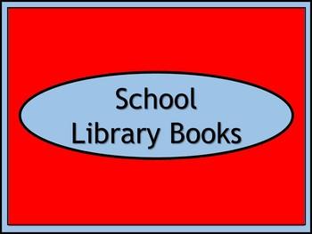 School Library Books Crate Label - Dr. Seuss Tribute Colors