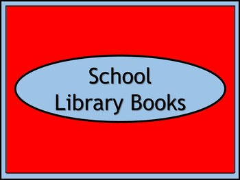 School Library Books Crate Label - Dr. Seuss Tribute Colors