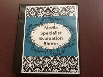 School Library Media Coordinator Evaluation Binder