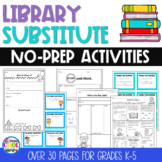 School Library - Substitute Lessons and Activities