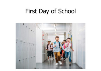 School Life-Back to School-Level A