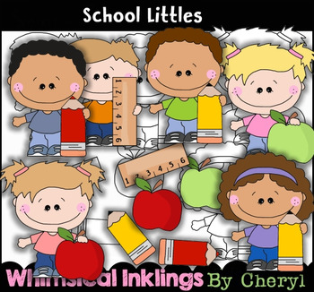School Littles Clipart Collection