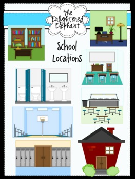 School Locations Clip Art