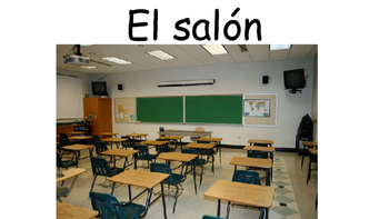 School Locations/Places in Spanish