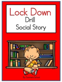 school lock down drill social story by summers school tpt. Black Bedroom Furniture Sets. Home Design Ideas