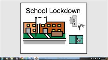 School Lockdown (Boardmaker Format)