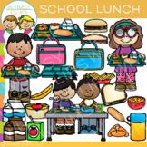 School Lunch Clip Art