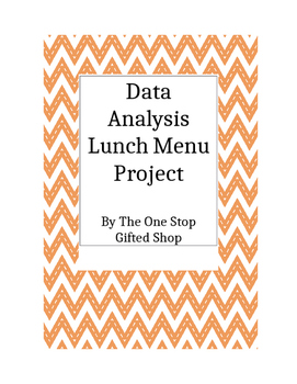 School Lunch Menu Data Analysis Project!  All included!