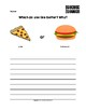 School Lunch Opinion Writing Pack