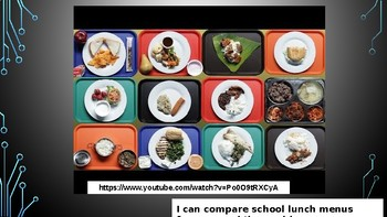 School Lunches Around the World (Spanish - Almuerzos del Mundo)