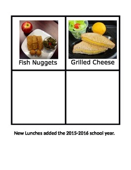 School Lunches (continued)