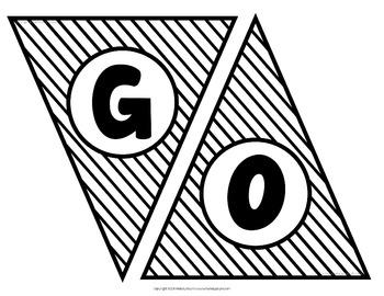 School Mascot Banner {Let's Go Vikings!}