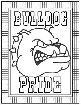 School Spirit Bulldogs Set