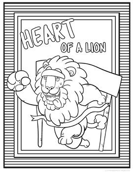 School Mascot Lions Set