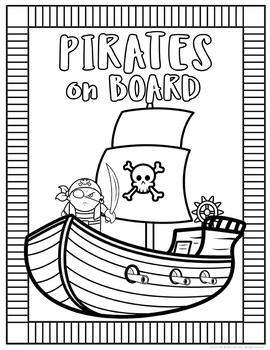 School Mascot Pirates Set