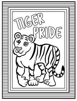School Spirit Tigers Set
