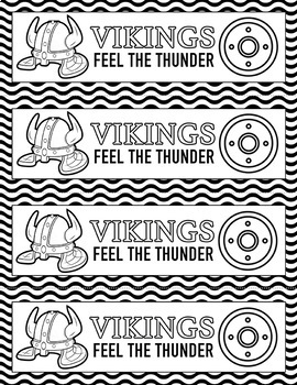 School Spirit Vikings Set