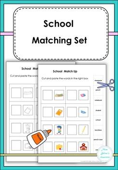 School Matching Set