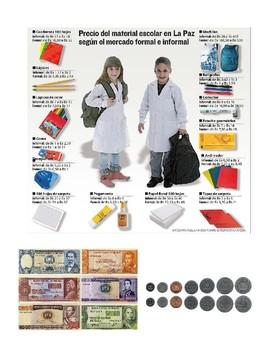 School Materials Practice - Comparison - Cultural - Los materiales escolares