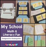 School Math and Literacy Fun - Kindergarten