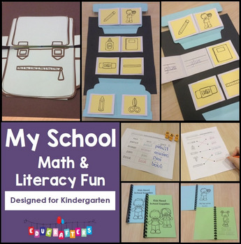 School Math and Literacy Fun - Kindergarten