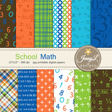 School Math digital paper