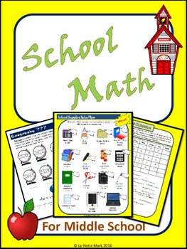 School Math for Middle School Math Review