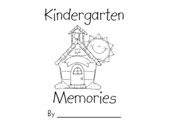 School Memories Book Kindergarten