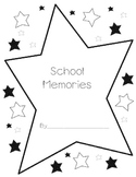 School Memories Book Writing Activity