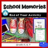 School Memories End of Year Activity