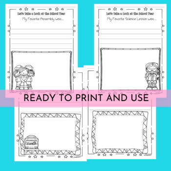 End of Year Memory Book {First, Second and Third Grade}