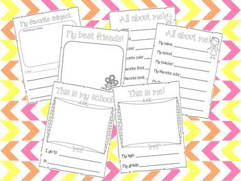 School Memories Keepsake Book {PK-2}