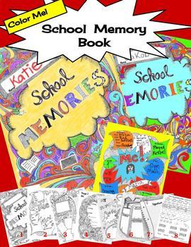 School Memory Book  Color Me!