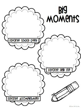 School Memory Book-Intermediate Grades