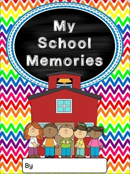 School Memory Book {Preschool to 2nd Grade}