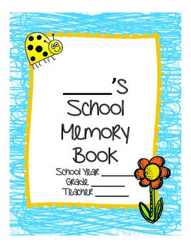 School Memory Book Printable (Any Grade!)