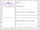 School Memory/Keepsake Box - Preschool-12th Grade - Purple, Pink & Gray Theme