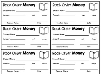 School Money Collection Forms